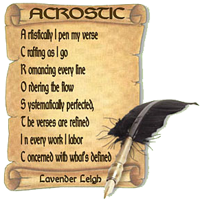 an acrostic poem is a poem where the first letter of each line spells out a word view an example in the announcement this poetry contest rewards a - Halloween Short Story Contest