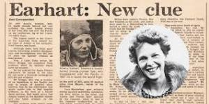 amelia earhart women role investigation Amelia earhart has long inspired young women to pursue their dreams, even if they face obstacles to their goals and especially if those dreams will take them beyond traditional careers.